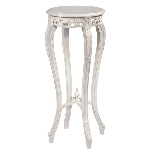 Classic White Plant Stand